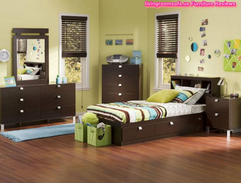 Amazing Cheerful Blue Kids Contemporary Furniture