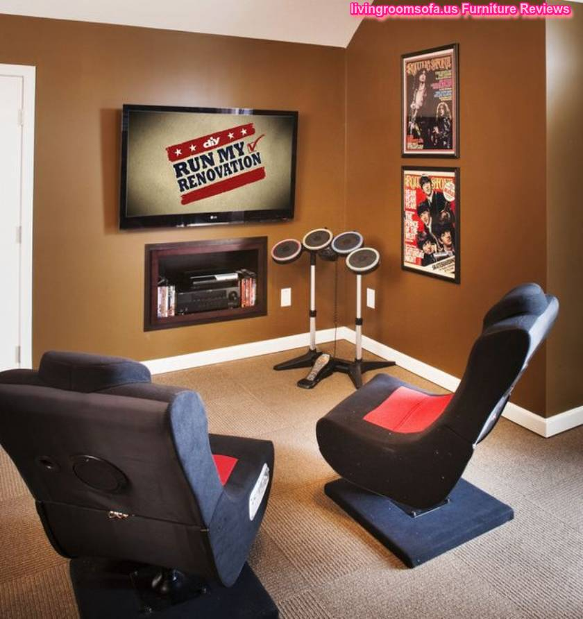 Amazing rotating chairs for gaming room