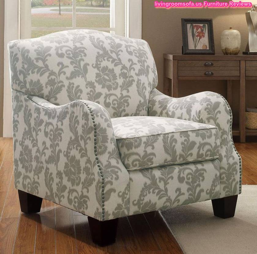 Patterned accent chairs with arms patterned accent for Patterned living room chair
