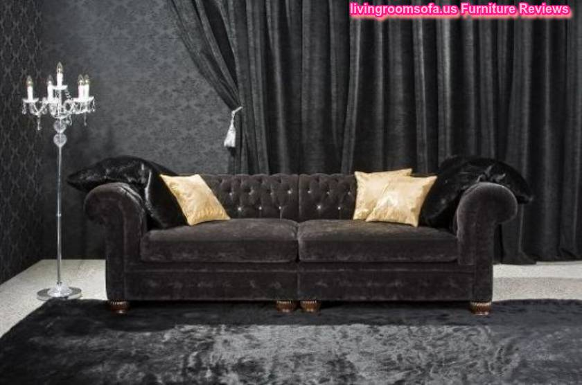 Chesterfield Couch For Living Room Design