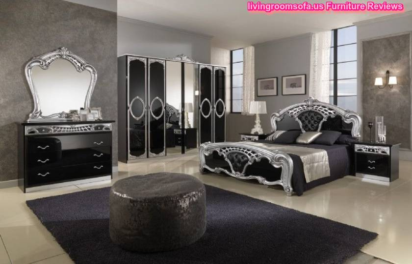 Black italy classic bedrooms design ideas for Bad design furniture