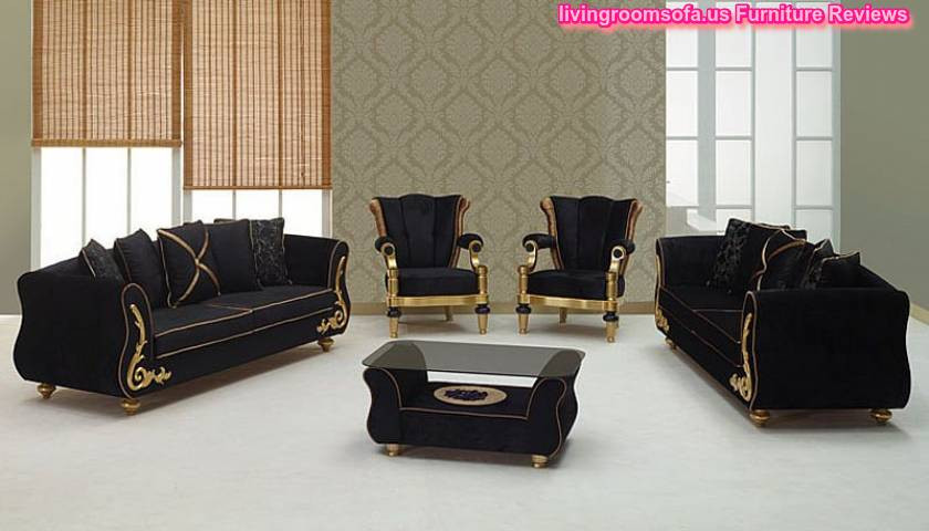 Black Sofa Sets Black Living Room Sets You Ll Love Wayfair