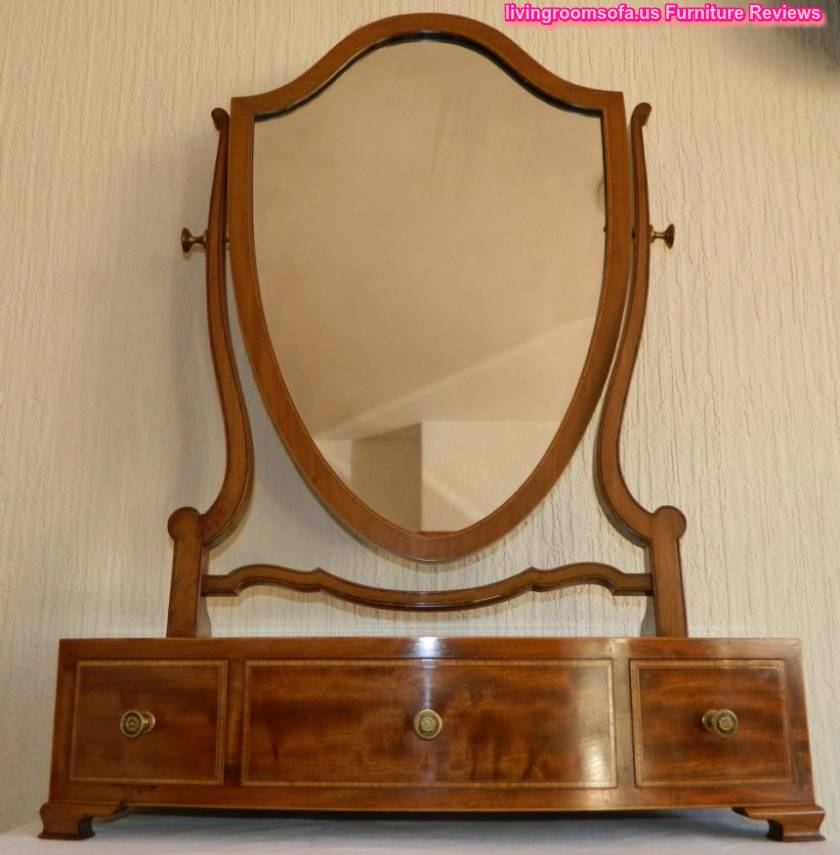 Classic Antique Vanity Mirror Furniture - Antique Vanity Mirrors