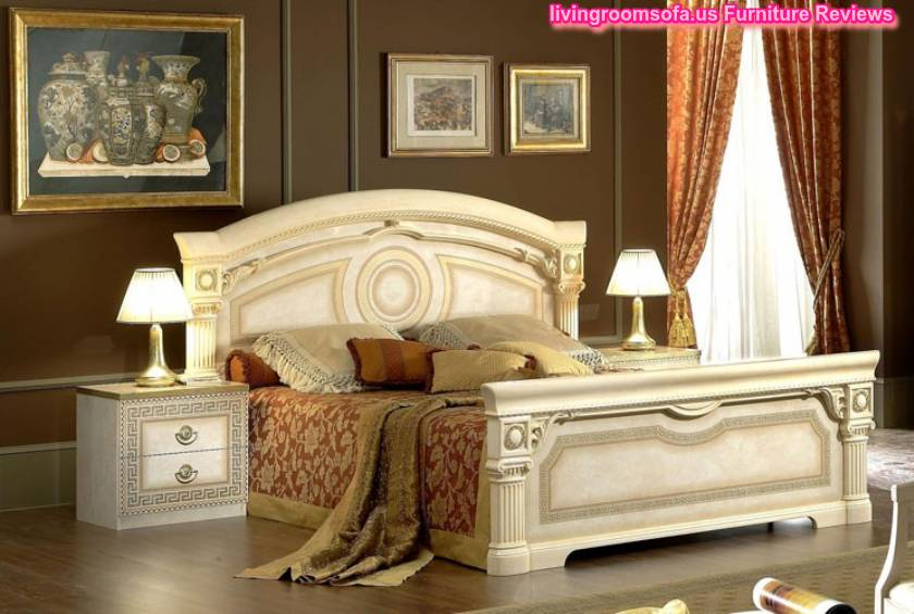 classic bedroom furniture aida bed made in italy
