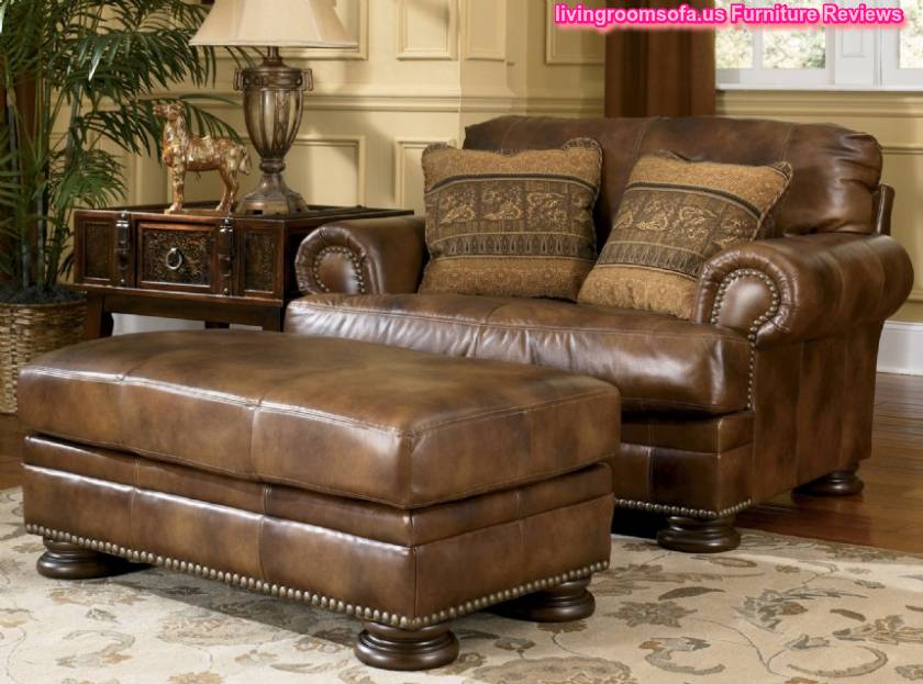 Carved Wood Classic Sofa Ashley Furniture - Ashley furniture living room set
