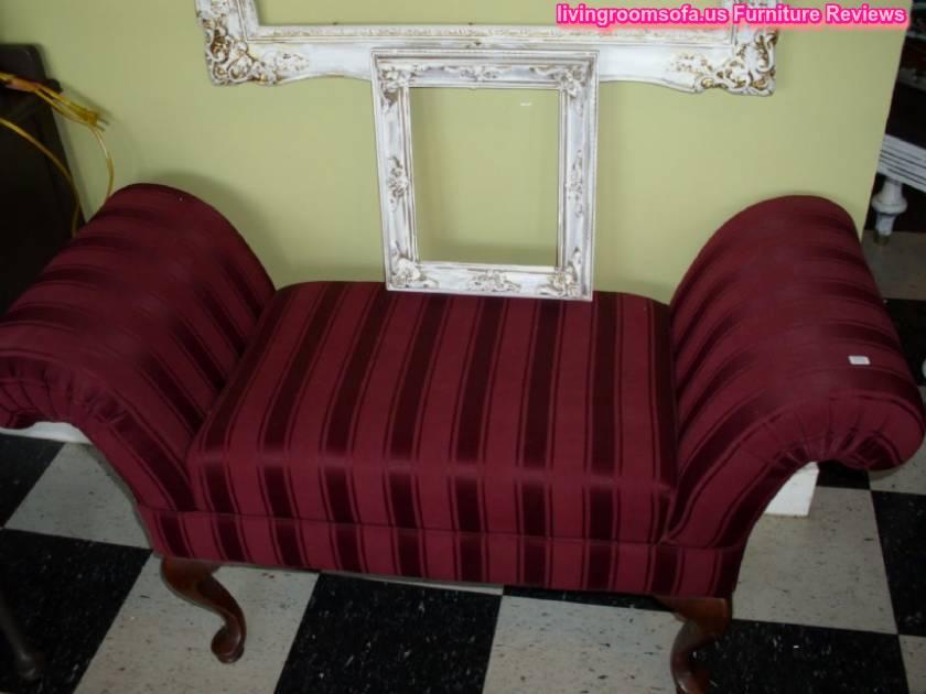 Classic Decorative Bedroom Settee Bench