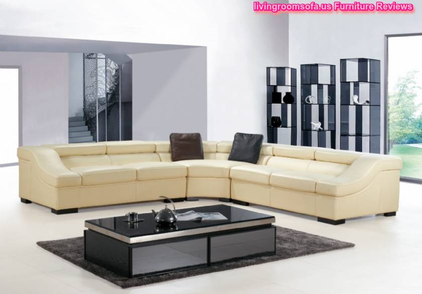 Contemporary Sofas And Chairs ,leather Seats And Corner Seat In Livingroom