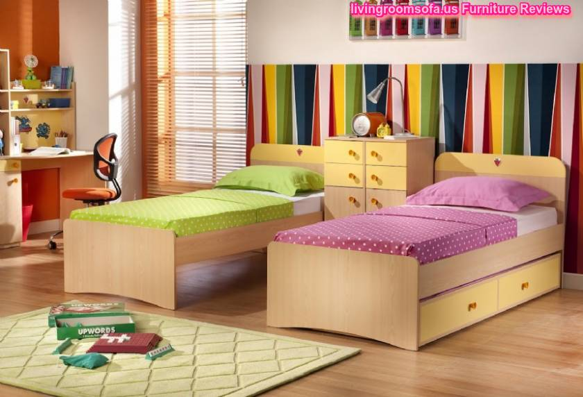 Cool Beds For Small Rooms With Limited Storage: Cool Bunk Beds With Storage And For Kids Bedroom