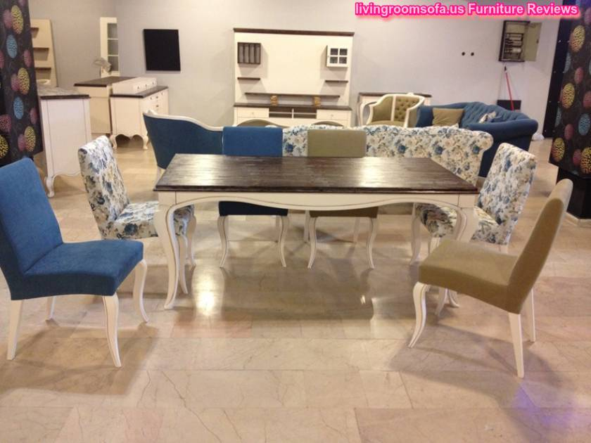 Country casual dining room furniture for Casual dining room chairs