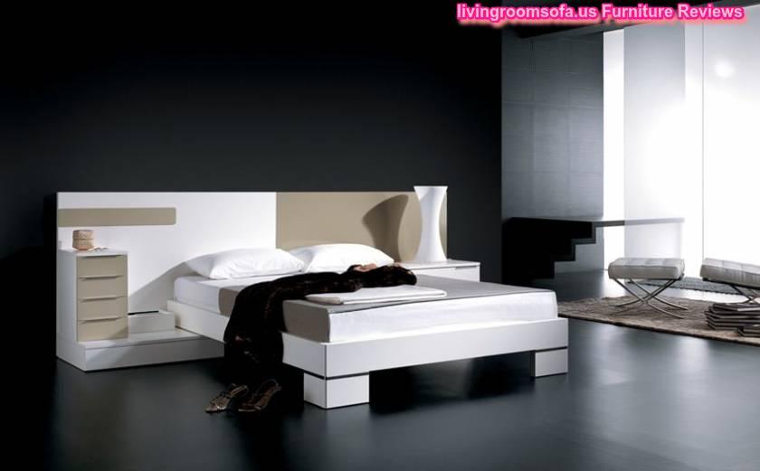 Cube White Modern Bedroom Design