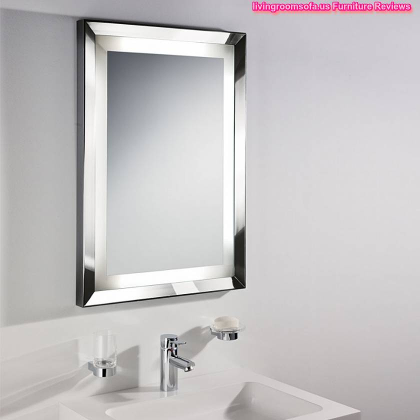 Decorative modern bathroom wall mirrors for Decorative wall mirrors for bathrooms