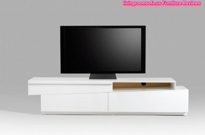 Decorative White And Contemporary Modern Tv Stands