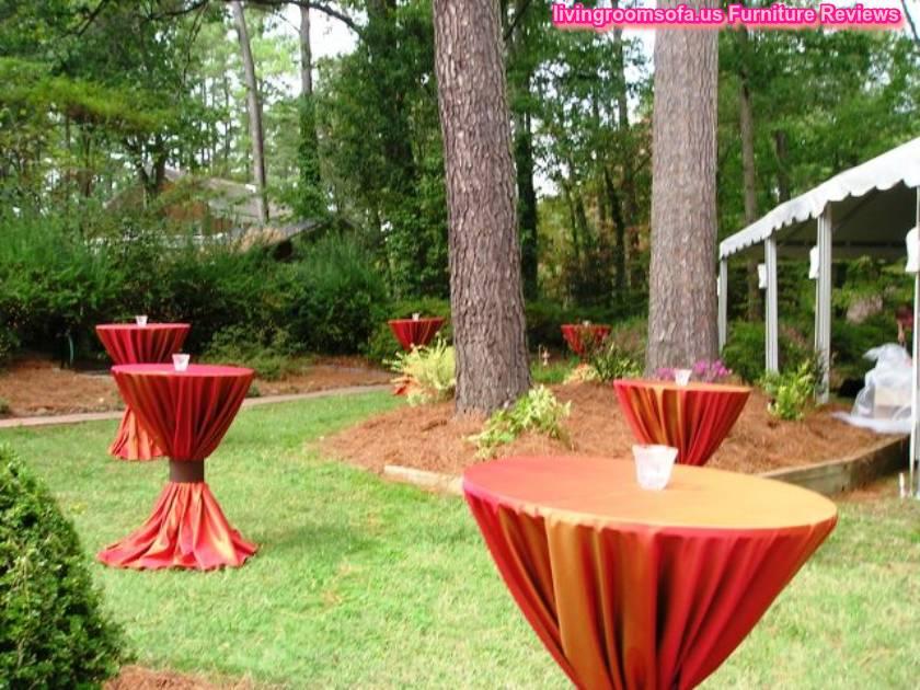Banquet Cocktail Tables Design Ideas