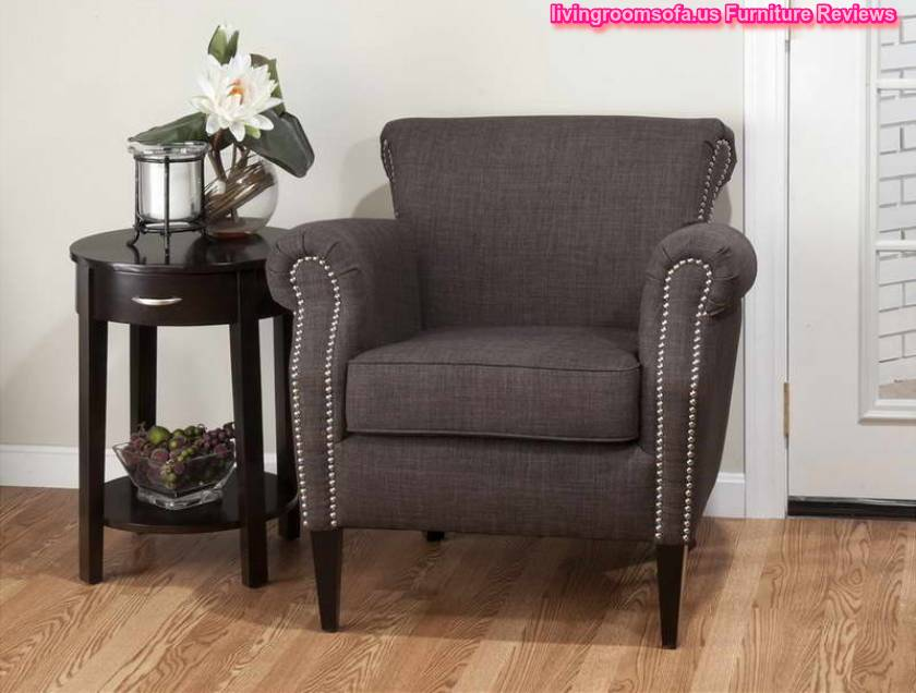 gray accent chair for living room