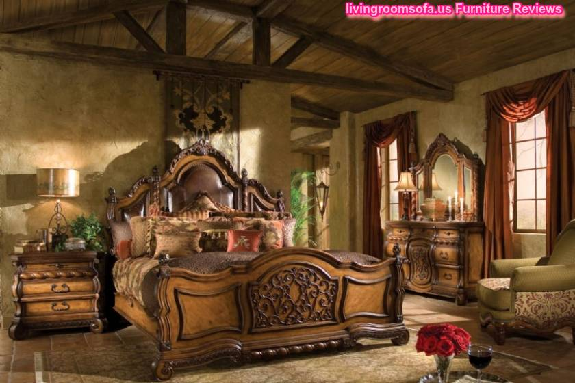 Handcraft Classic Bedroom Furniture Designs