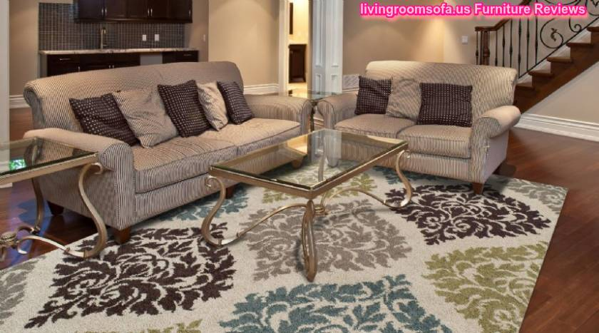Quatrefoil Patterned Area Rug