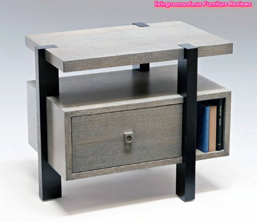 Bedside tables nightstands design ideas for Latest side table designs