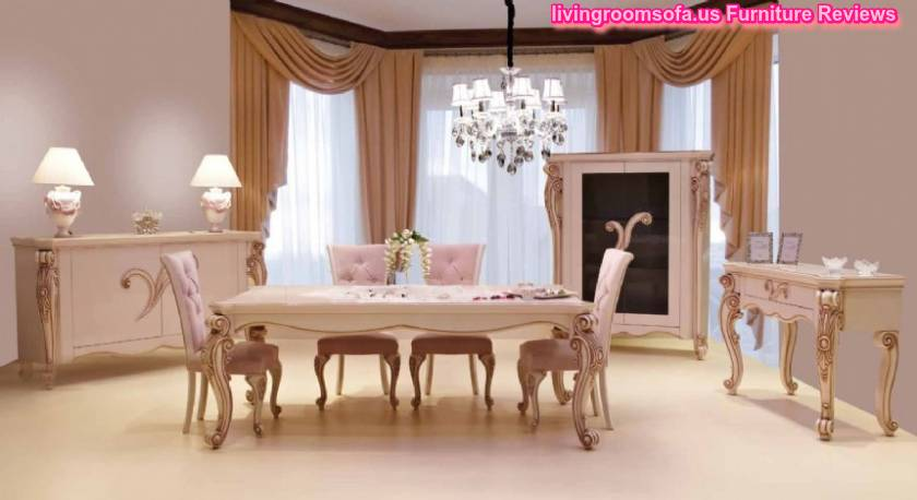Modern Classic Casual Dining Room Furniture Concept