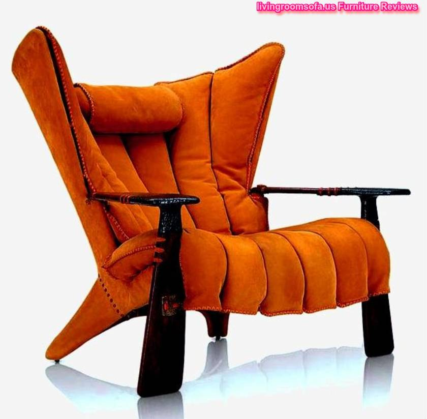 Amazing Orange Accent Chairs Design