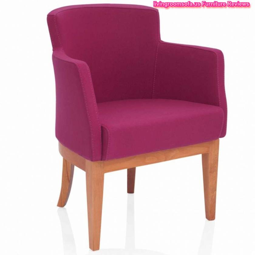 Pink And Wood Chair Design Ideas