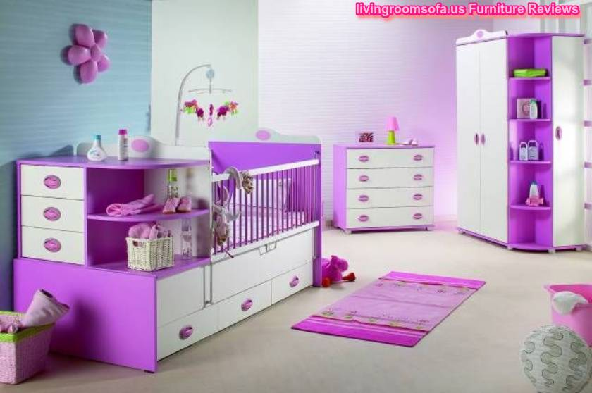 purple white baby bedroom furniture design ideas