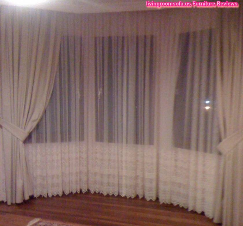 White Bedroom Net Curtain Ideas
