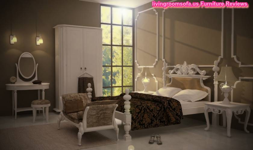 White Classic Bedroom Furniture Designs