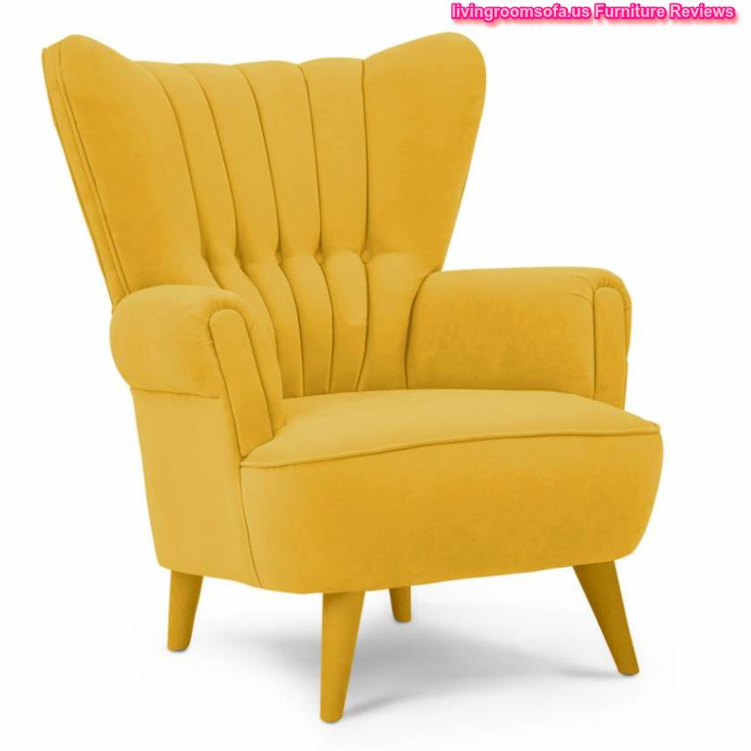 Yellow And Modern Contemporary Accent Chairs