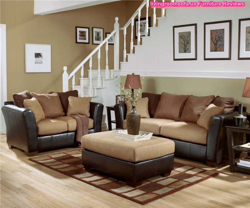 Ashley living room sets for Ashley leather living room furniture