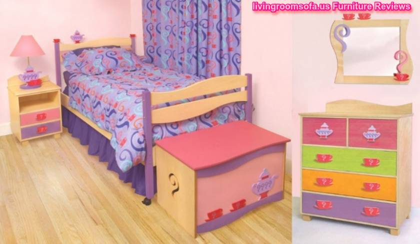 Awesome Girls Bedroom Furniture Sets And Wooden Cabinet