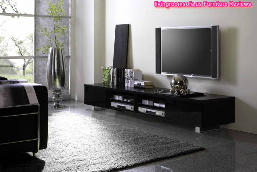 Black And Style Of Different Tv Stands In Livingroom.contemporary Modern Tv Stands