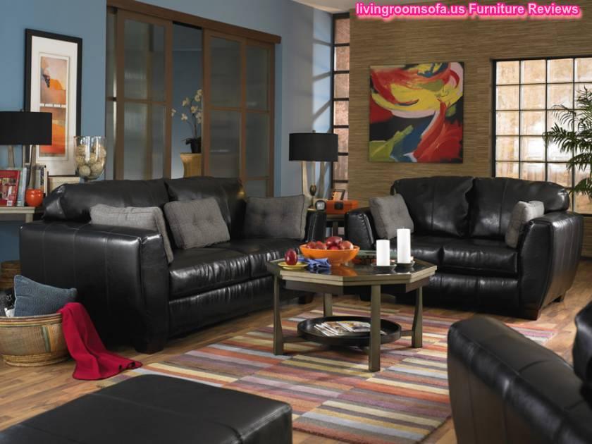 Black Living Room Furniture - Black living room furniture sets