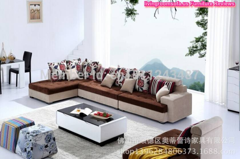 Chinese Manufacturer Simple Small L Shaped Sectional Sofa