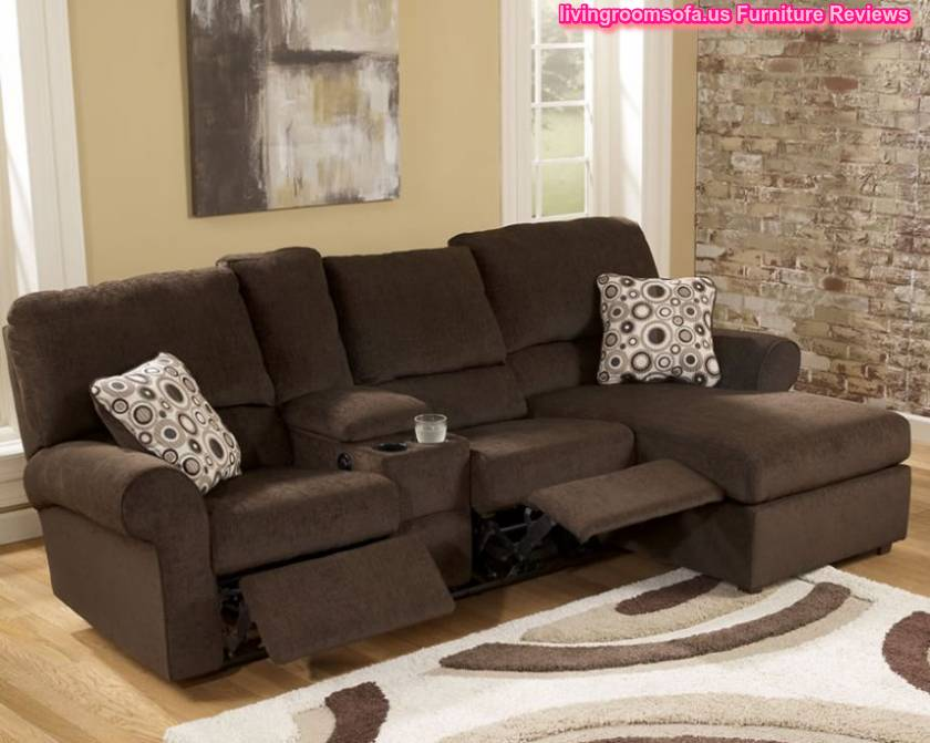 chocolate l shaped sectional sofa small spaces - Small Sectional Couch