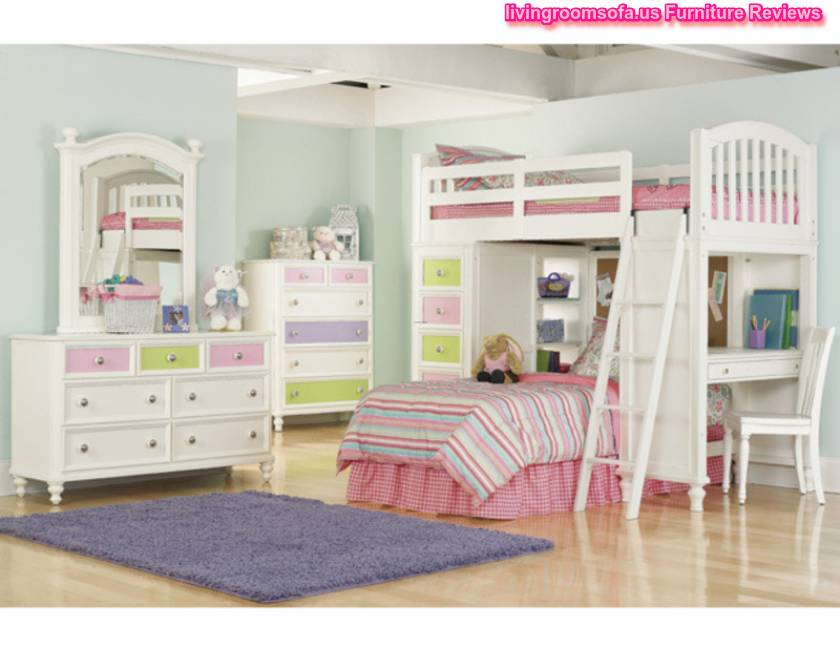 Contemporary Furniture Kids Bedroom Decoration With Exquisite Arrangement