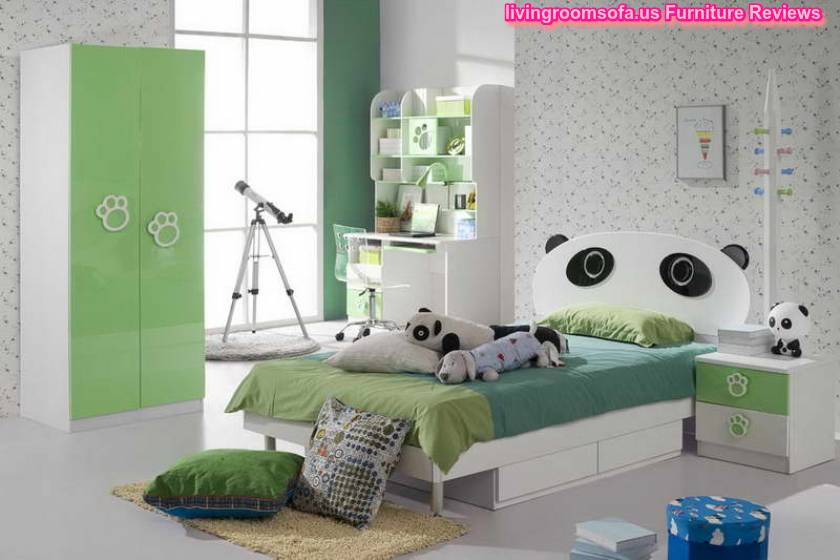 Contemporary Kids Furniture Design With Cabinet