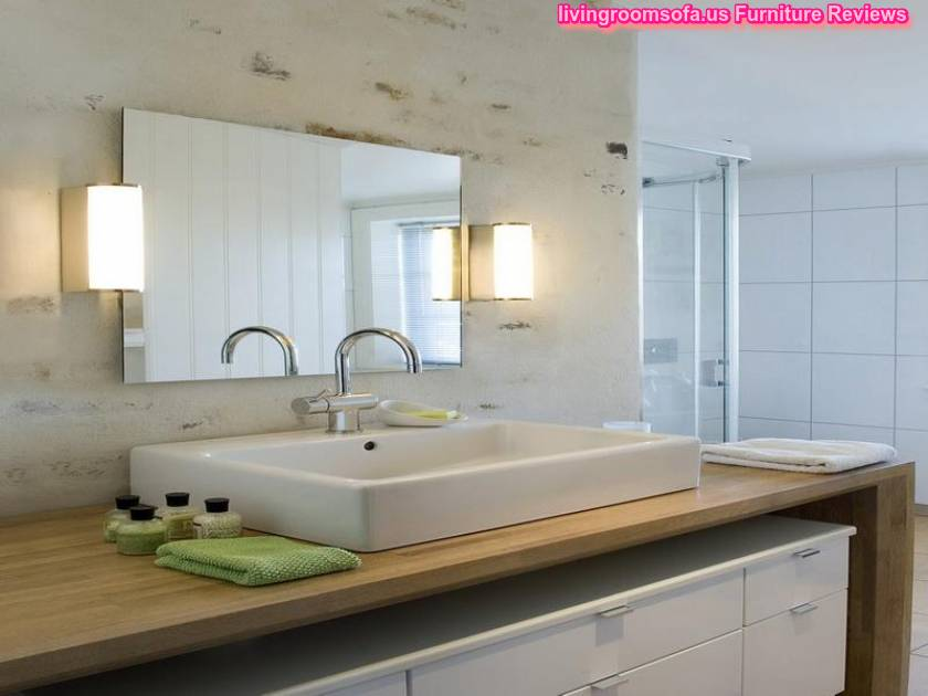 Cool Bathroom Wall Mirrors Design Ideas