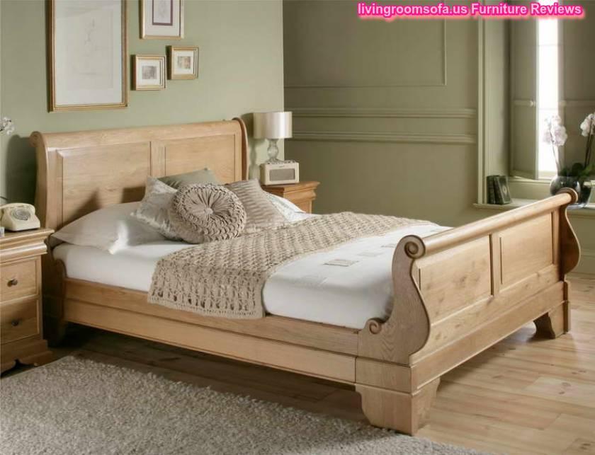 Next Design  Cool Oak Bed Frames With Grey Carpet