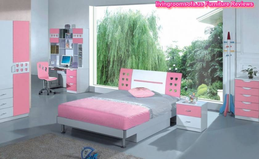 cool pink bedroom set for girls - Pink Bedroom Set
