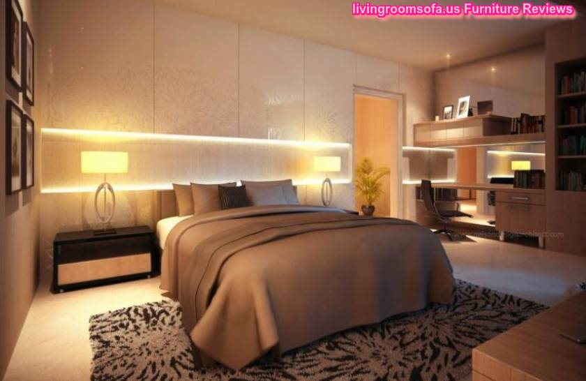 20 Awesome Modern Bedroom Furniture Designs: Cool String Lights Bedroom Furniture Modern Design