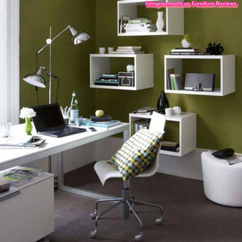 Business office furniture decorating ideas Creative home office design