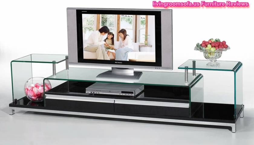 Delectable Modern Tv Stands Glass Furniture Ideas
