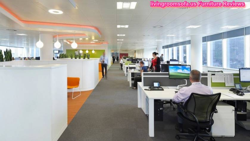 Excellent business office interior furniture decorating for Office design ideas for business office