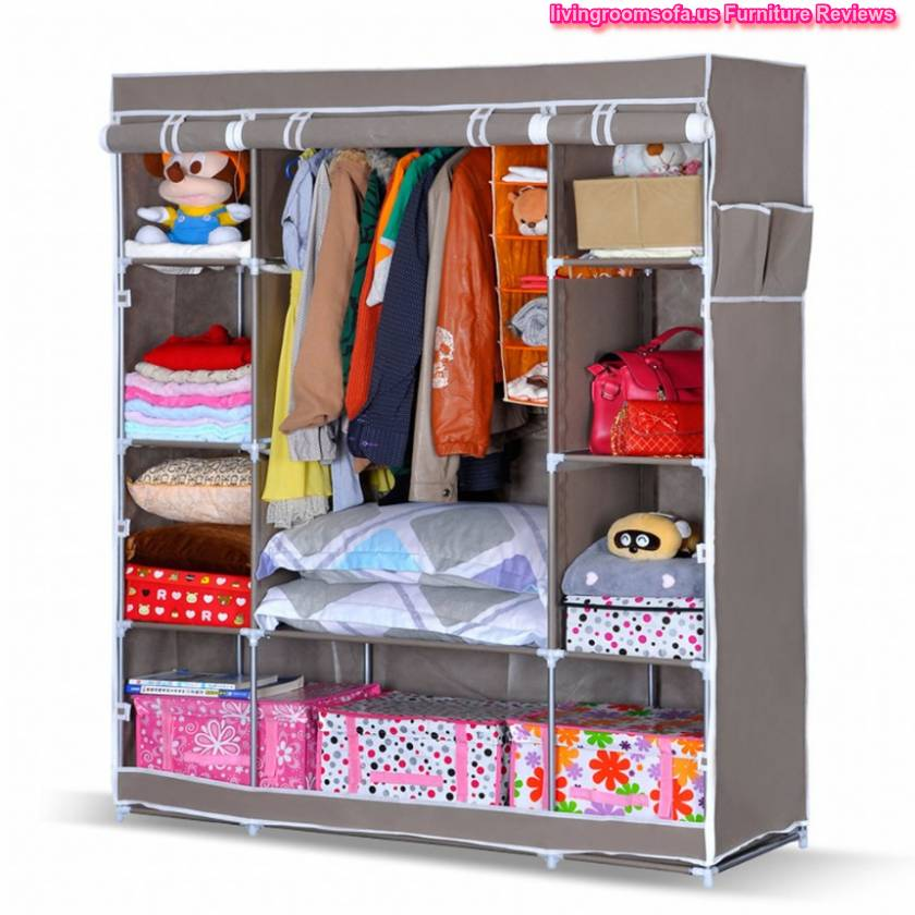 Portable storage portable storage organizer wardrobe closet - Small space clothes storage pict ...