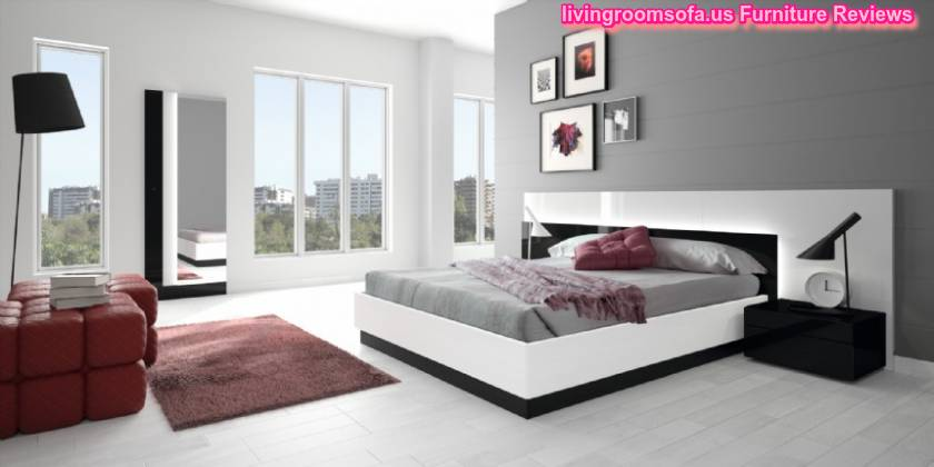 Hermida Contemporary Furniture Bedroom Sets
