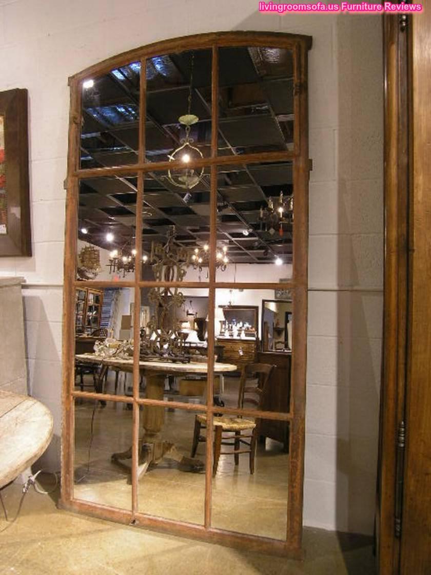 iron mirror antique window frame - Mirror Window Frame