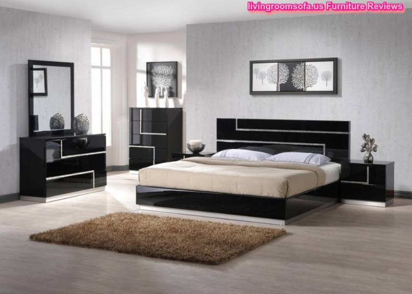 Latest Black High Gloss Cheap Bedroom Sets Design Picture With Crystal Like Details Lucca For Your Dream Bedroom Furniture