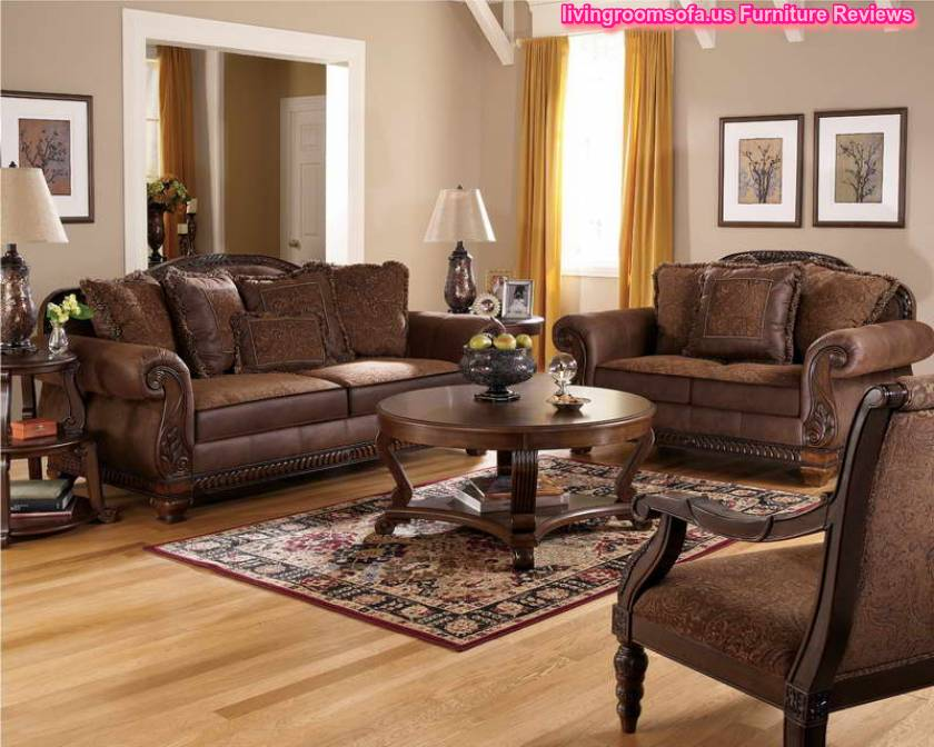 Ashley furniture 14 piece living room