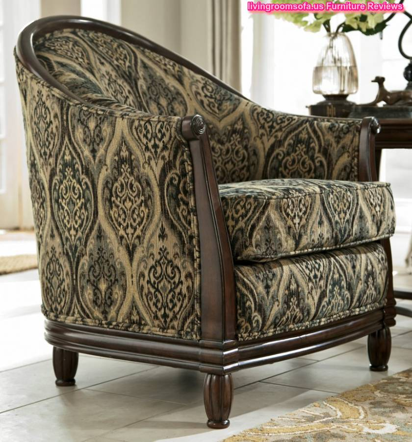 Patina Showood Accent Chair With Arms Decoration
