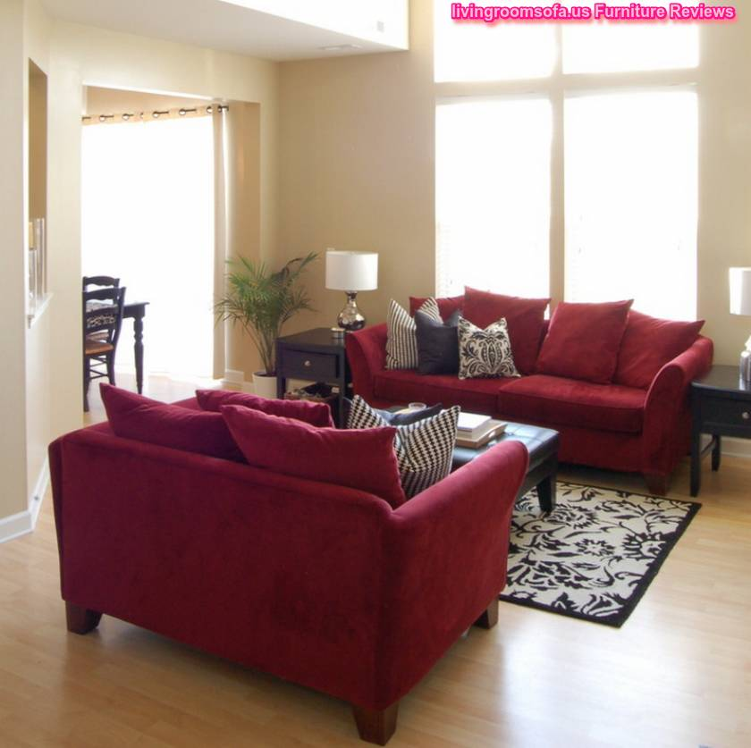 Red accent chairs for living room for Living room with accent chairs